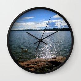 In a Far Shore Near Wall Clock