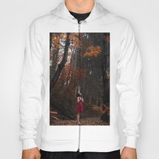 Girl in the red nature Hoody
