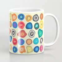 biology Mugs featuring CELLS by THE USUAL DESIGNERS