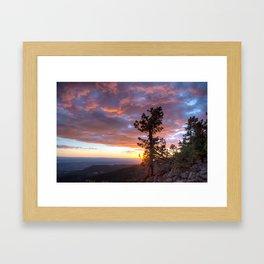 Grand Canyon, Parashant International Night Sky Province Framed Art Print