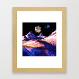 UglyMoon Framed Art Print