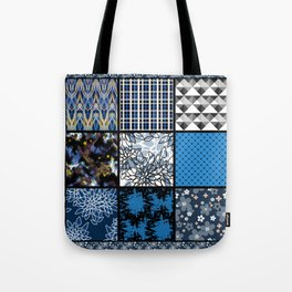 Favorite blanket and pillows . Patchwork 2 Tote Bag
