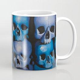 Blue & Purple Skulls Coffee Mug