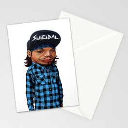 Hu's feeling of loss is lifting Stationery Cards