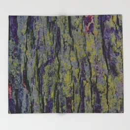 Mossy Bark Throw Blanket