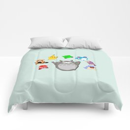 Video game Anime Character Rainbow Comforters