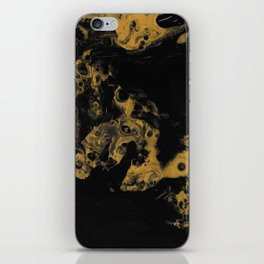 Black Gold iPhone Skin