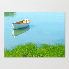 Serene boat scene#2 Canvas Print