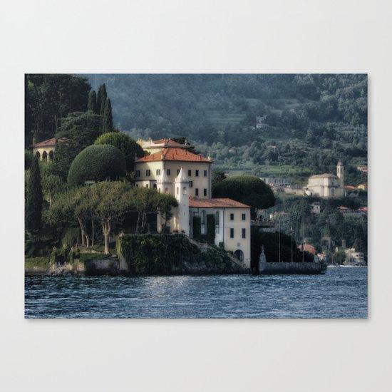 Villa del Balbianello - Lake Como Canvas Print