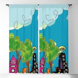 JL The City View Blackout Curtain