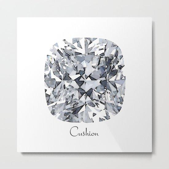 Cushion Metal Print