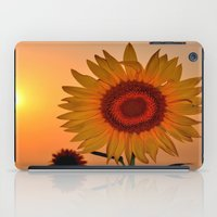 sunflower iPad Cases featuring sunflower by  Agostino Lo Coco