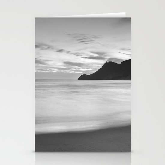 Silver sea. BN Stationery Cards