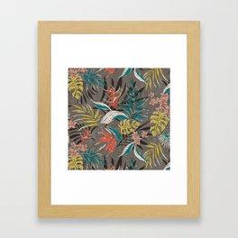 Bali Tropics - Cabana Framed Art Print