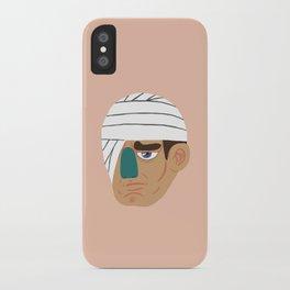 Bandage Face iPhone Case