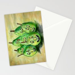 the pear-parade Stationery Cards