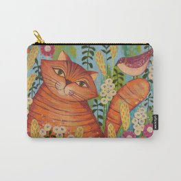 Cat in Love Carry-All Pouch