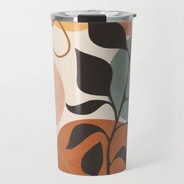 Abstract Minimal Shapes 23 Travel Mug