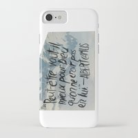 camus iPhone & iPod Cases featuring OH NO CAMUS AGAIN by Josh LaFayette
