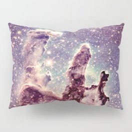 pillars of creation pale mauve blue lavender Pillow Sham