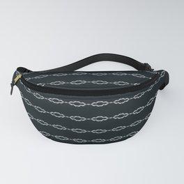 Minimalist Black White Design Fanny Pack