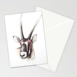 Gemsbuck Antelope  Stationery Cards