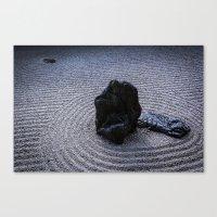 zen Canvas Prints featuring Zen by Michelle McConnell