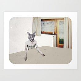 Dans la maison Art Print