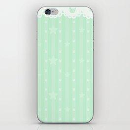 Kawaii Green iPhone Skin