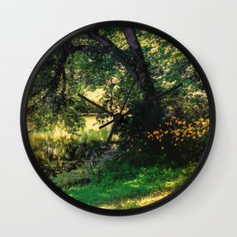 On Allerton Pond Wall Clock