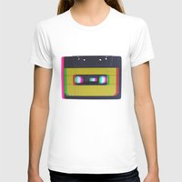 cassette T-shirts featuring Cassette by Michal