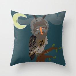 Uglad Throw Pillow