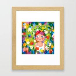 Hello Spring! Framed Art Print