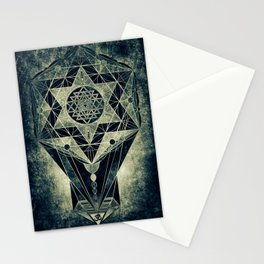 Sacred Geometry for your daily life- SRI YANTRA Stationery Cards