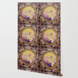 The Guardian - Celtic Griffin mandala Wallpaper