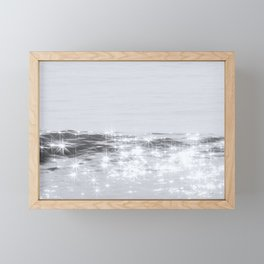 stars in the sea Framed Mini Art Print