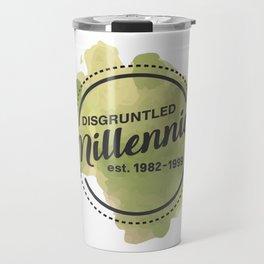 Disgruntled Millennial Pride Travel Mug