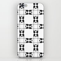 terrier iPhone & iPod Skins featuring Terrier by Janae Hall