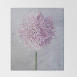 Hello Flower Throw Blanket