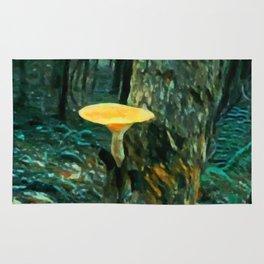 Mushroom Painting Rug