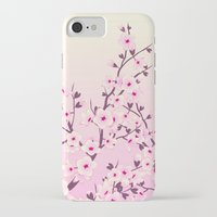 cherry blossoms iPhone & iPod Cases featuring Cherry Blossoms by Nina Baydur