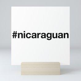 NICARAGUA Mini Art Print