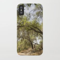 Follow The Tree Lined Trail Slim Case iPhone X