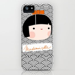 mademoiselle iPhone Case