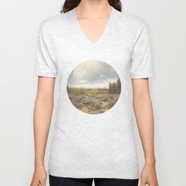 In search of Ansel Unisex V-Neck