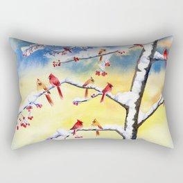 Winter Song 2 Rectangular Pillow