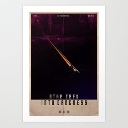 Star Trek - Into Darkness Art Print