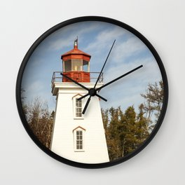 Cape Bear Lighthouse Wall Clock