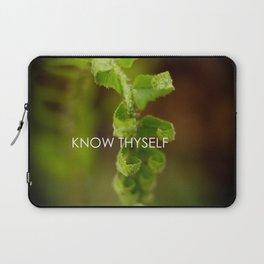 Know Thyself Laptop Sleeve