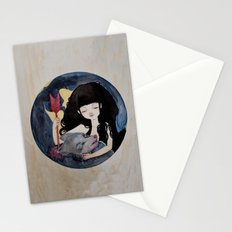 The First Seduction or Big Bad Wolf Having a Big Bad Day Stationery Cards